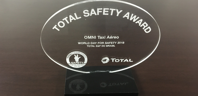 Omni receives an award on Safety by Total E&P